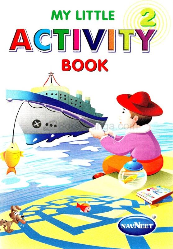 My Little Activity Book - 2