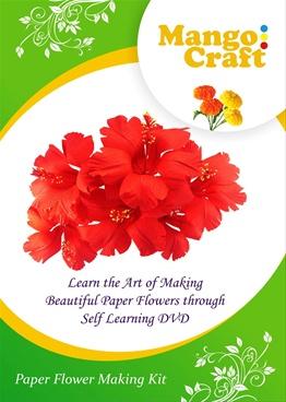 Mango craft dvd bookganga mango craft dvd mango craft dvd paper flower making mightylinksfo