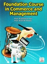 Foundation Course In Commerce And Management