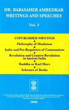 Babasaheb Ambedkar Writings And Speeches Vol. 17 (Part 3)