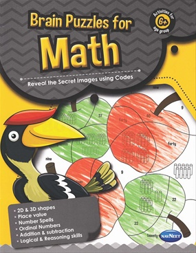 Brain Puzzles For Math 6+