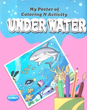 My Poster Of Coloring And Activity - Under Water