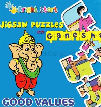 Jigsaw Puzzle With Ganesha Good Values