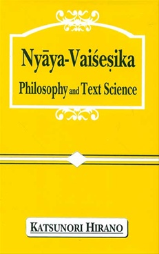 Nyaya Vaisesika Philosophy And Text Science