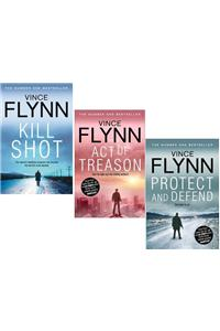 Vince Flynn 3 books sets