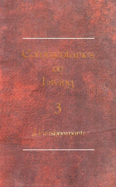 COMMENTARIES ON LIVING - III 01 EDITION (PAPERBACK)