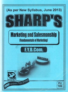 Marketing And Salesmanship - F.Y.B.Com