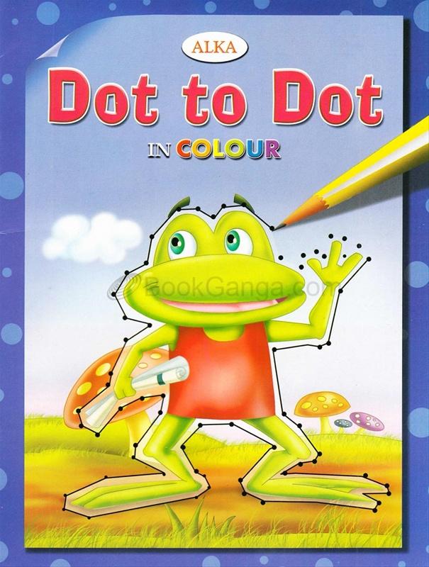 Dot To Dot In Colours (Dark Blue)