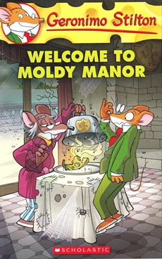 Geronimo Stilton Welcome to Moldy Manor