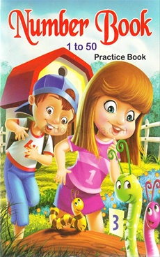 Number Book 1 To 50
