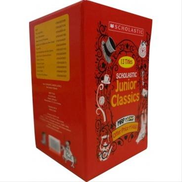 Scholastic Junior Classics Set Of 13 Titles