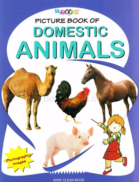 Picture Book Of Domestic Animals