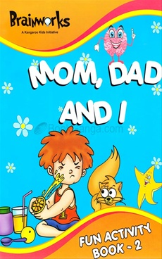 Mom,Dad and I Fun Activity Book -2