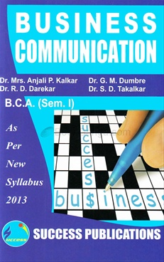 Business Communication B.C.A. (Sem. 1)