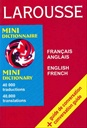 Larousse Mini Ditconary French - English