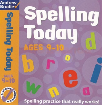 SPELLING TODAYS FOR AGES 9-10